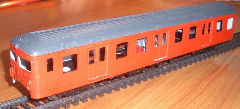 2. Generations S-tog byggesæt